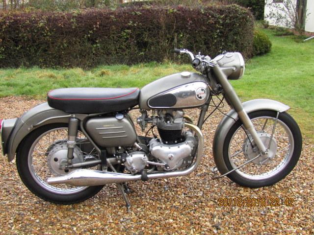 1957 Norton 77 Dominator