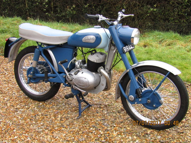 1961 Greeves 250 Sports Twin