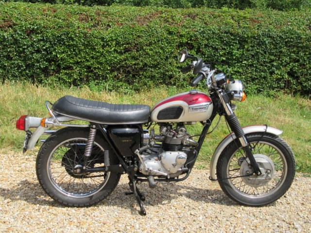 1973 Triumph T100P