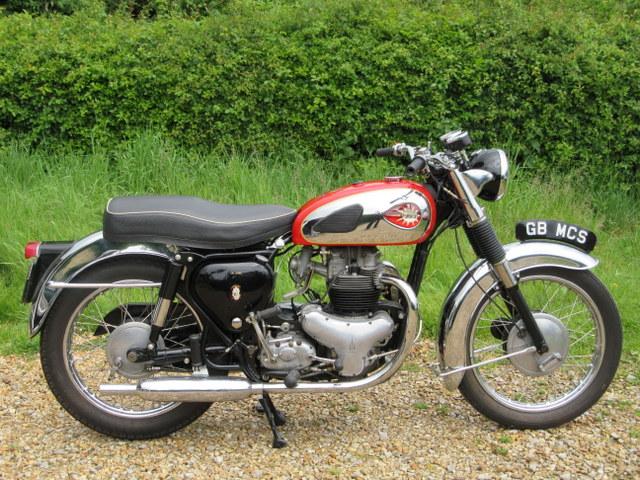 1960 BSA A10 SR