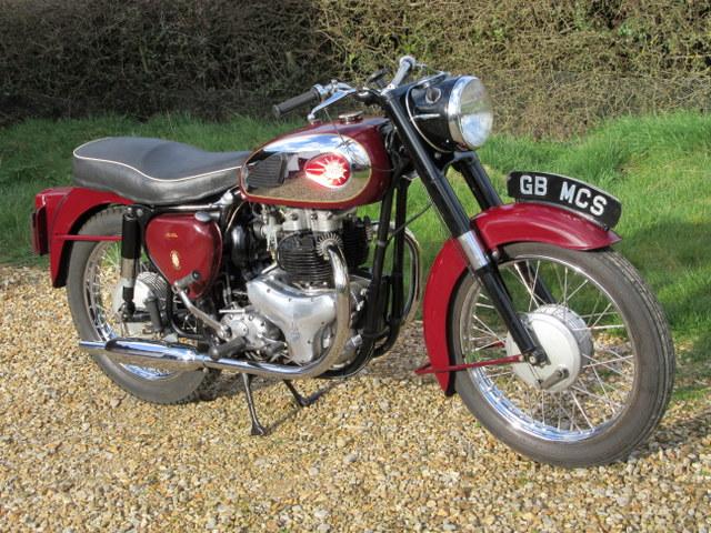 1963 BSA A7