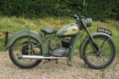 1957 BSA Bantam D1