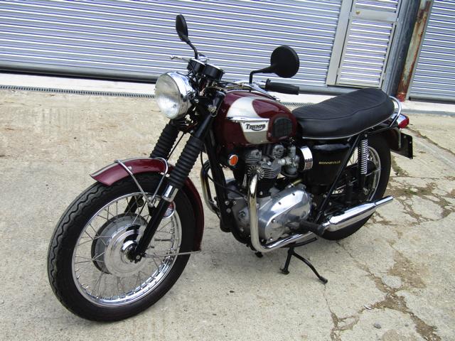 1970 Triumph T120R Bonneville
