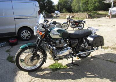 2008 Triumph T100 Bonneville
