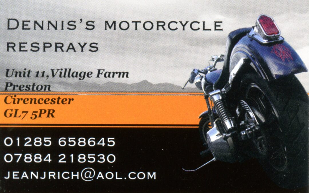 Dennis's Motorcycle Resprays