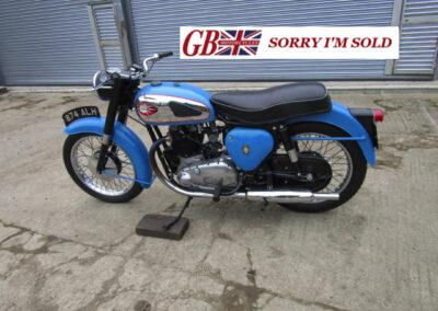 1960 B.S.A. A10 Nutley Blue