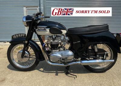 1960 Triumph T110